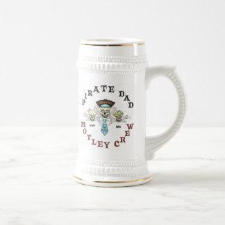 Pirate Father's Day Stien Mug