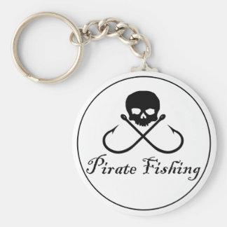 Pirate Fishing Keychain