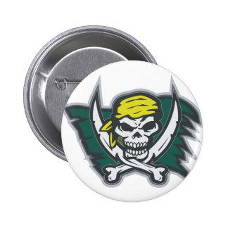 Pirate Flag 6 Cm Round Badge