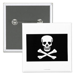 Pirate Flag Pinback Buttons