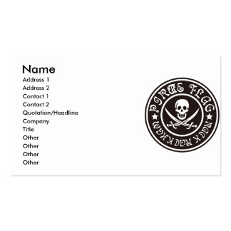 PIRATE_FLAG BUSINESS CARD