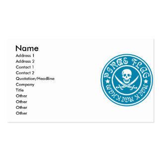 PIRATE_FLAG BUSINESS CARD TEMPLATES
