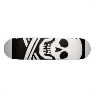 pirate-flag custom skate board