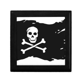 Pirate flag gift box