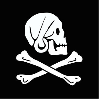 Pirate Flag - Jolly Roger Photo Cutouts