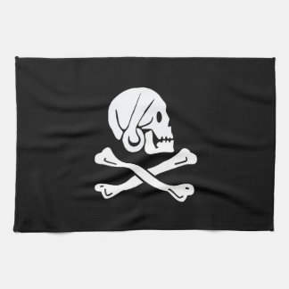 Pirate Flag - Jolly Roger Tea Towel