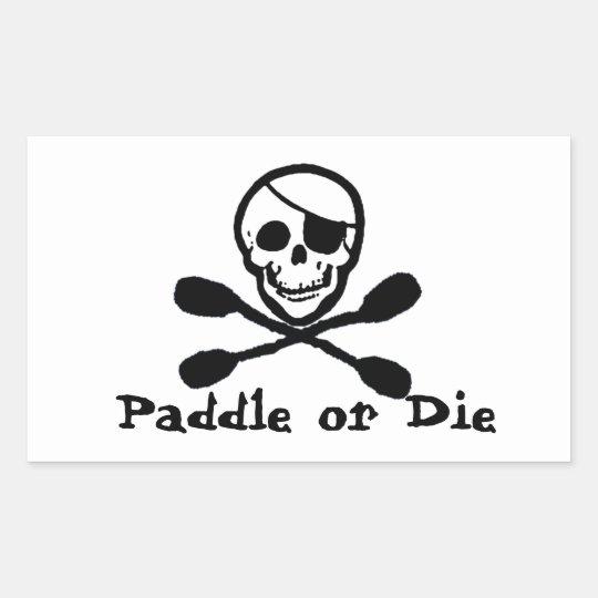 Pirate Flag Kayak Sticker