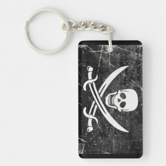 Pirate Flag Key Chain Souvenir