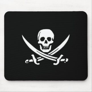 Pirate Flag Mouse Mat