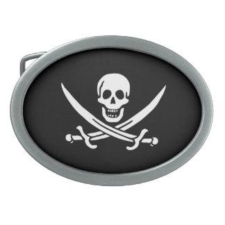 Pirate Flag of Calico Jack Belt Buckles