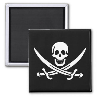Pirate Flag of Calico Jack Magnet