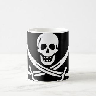Pirate Flag of Captain Calico Jack Rackham Morphing Mug