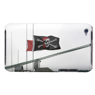 Pirate flag outdoors iPod touch cover