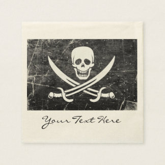 Pirate Flag Party Napkins Paper Serviettes