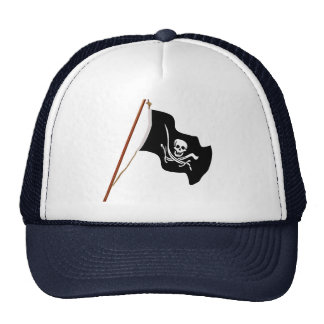 Pirate Flag Scull and Crossed Swords Cap