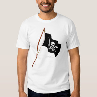 Pirate Flag Scull and Crossed Swords Shirt