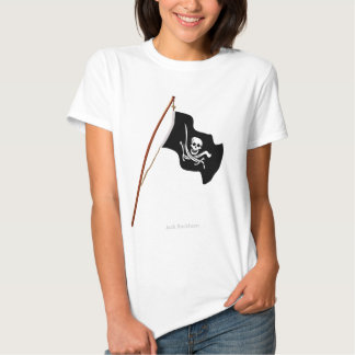 Pirate Flag Scull and Crossed Swords Tshirt