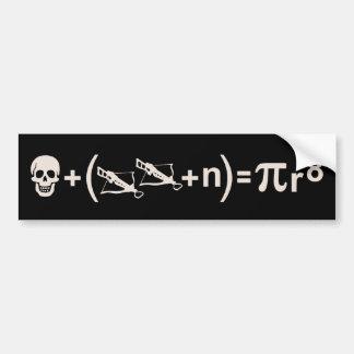 Pirate Formula Bumper Sticker