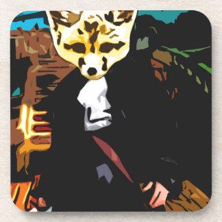 Pirate Fox Drink Coasters