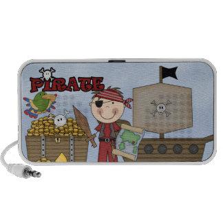 Pirate Fun iPod Speakers