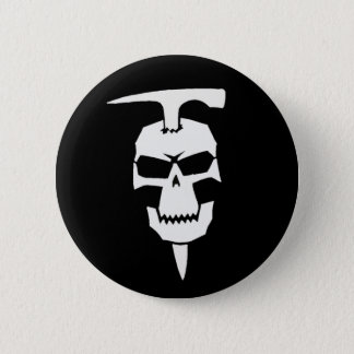 Pirate Geologist 6 Cm Round Badge