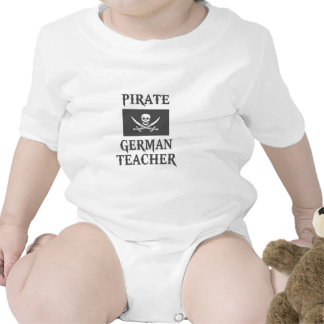 Pirate German Teacher Tshirts