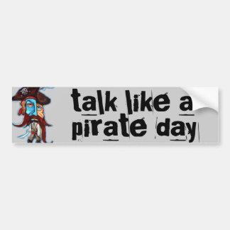 Pirate Gifts Bumper Sticker
