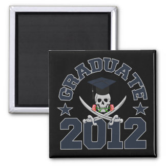Pirate Graduate 2012 magnet