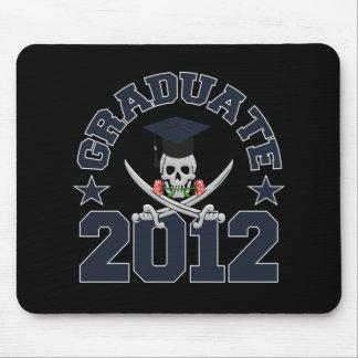 Pirate Graduate 2012 mousepad