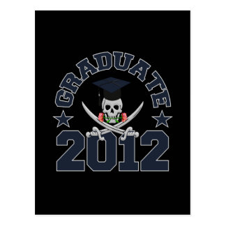 Pirate Graduate 2012 postcard - customize