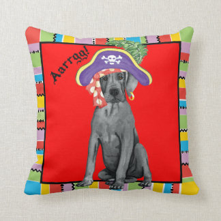 Pirate Great Dane Cushion