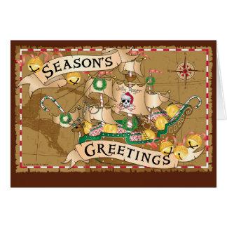 Pirate Greetings Greeting Card