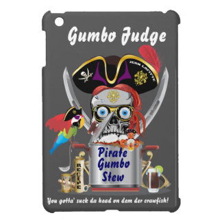 Pirate Gumbo logo All Styles View Hints Case For The iPad Mini