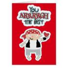 Pirate Heart Valentine Card