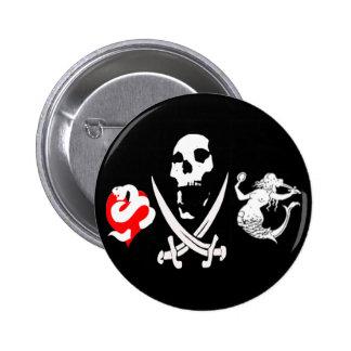 Pirate Icon #13 6 Cm Round Badge