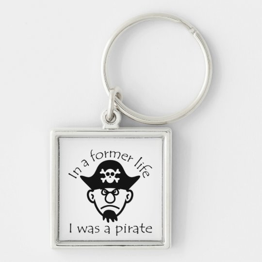 Pirate in Former Life Key Ring
