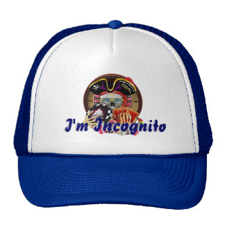 Pirate Incognito IMPORTANT Read About Design Trucker Hat