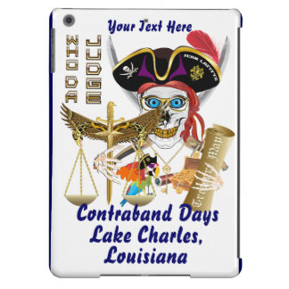 Pirate Judge Contraband Days View about Design iPad Air Covers