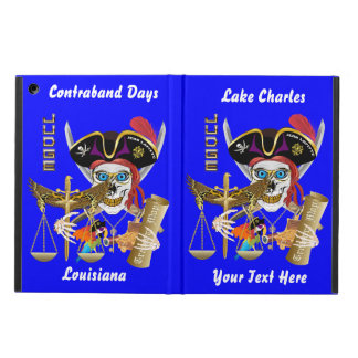 Pirate Judge iPad Air, Mini+2/3/4 Read About Cover For iPad Air