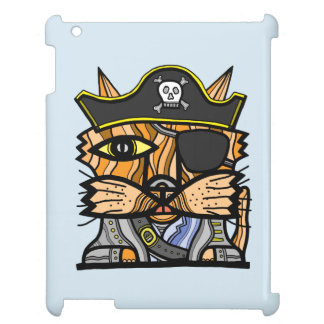 """Pirate Kat"" iPad/iPad Mini, iPad Air Case"