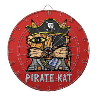 """Pirate Kat"" Metal Cage Dartboard"