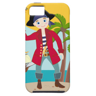 Pirate kid birthday party case for the iPhone 5