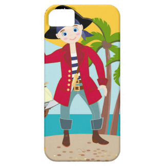 Pirate kid birthday party iPhone 5 cover