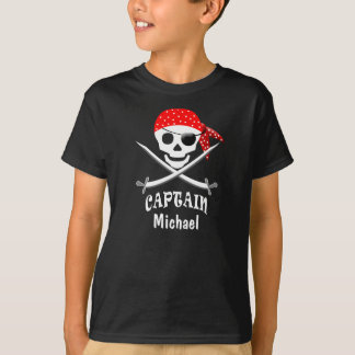 PIRATE KID'S SHIRT - CAPTAIN