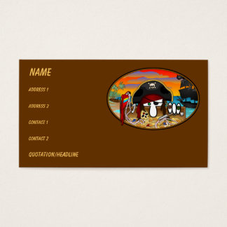 Pirate Kilroy Business Cards