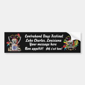 Pirate Lafitte Gumbo Judge logo View Hints Bumper Sticker