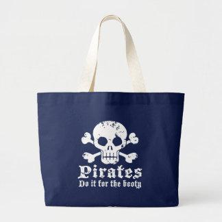 Pirate Large Tote Bag