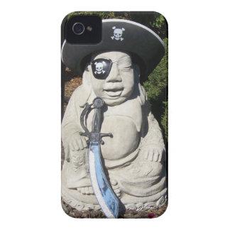 Pirate Laugh Buddha Case-Mate iPhone 4 Case