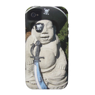 Pirate Laugh Buddha iPhone 4/4S Covers