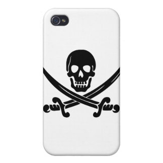 Pirate Logo iPhone 4/4S Covers